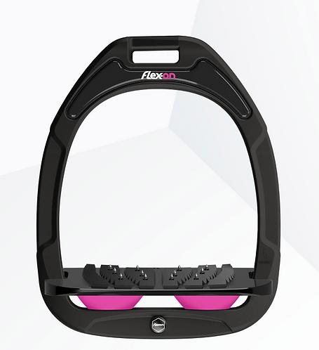 Flex-On - Green Composite noir incliné ultra-grip élastomères rose