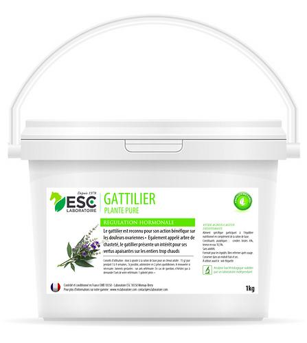 ESC Laboratoire - Gattilier – Ovaires et régulation hormonale juments