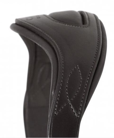 SD Design - Têtière anatomique noire avec matelassure douce. R-461