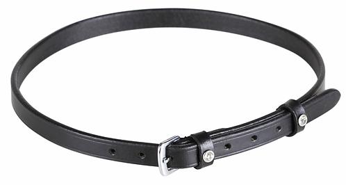 SD Design - Noseband noir passants à strass. R-474