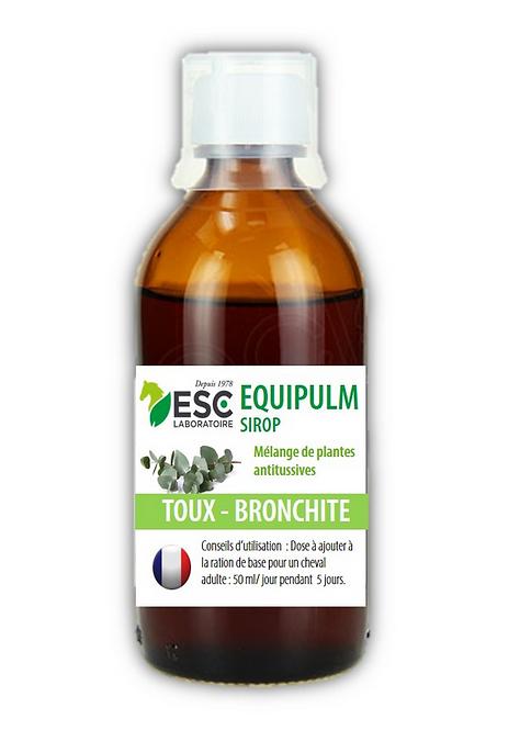 ESC Laboratoires - Equipulm Sirop - Toux sèche, concentré à base de plantes