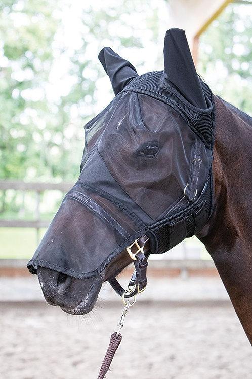 Harry's Horse - Masque anti-mouches Flyshield avec oreilles et naseaux