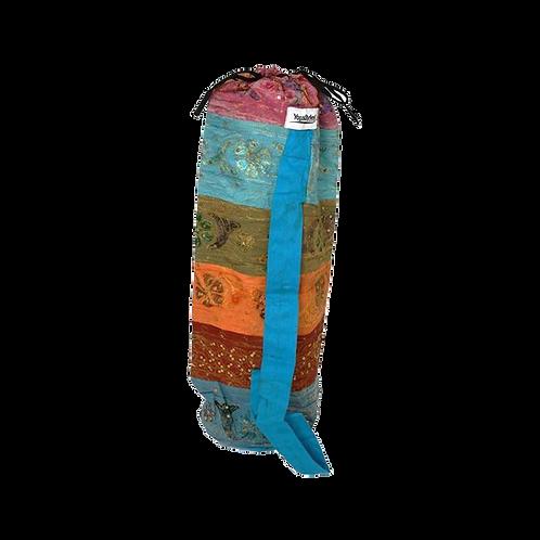Yogamat tas met symbool. Extra Large, met sluitkoord