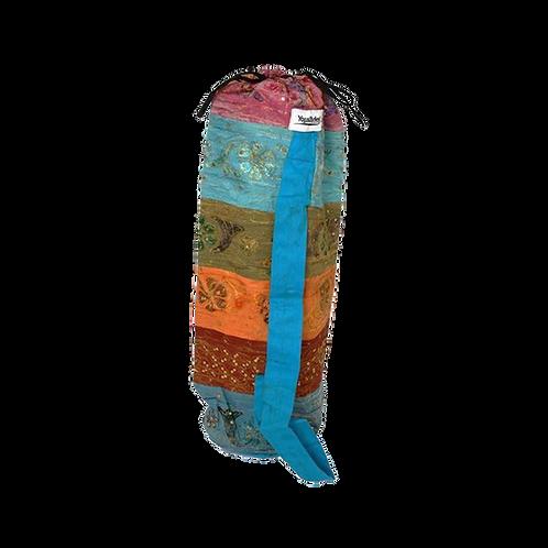 Yogamat tas met symbool. Voor 4 mm matten.