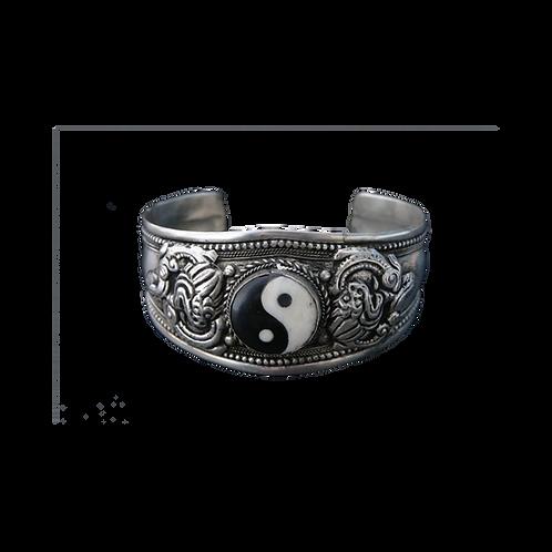 Armband met Yin Yang teken