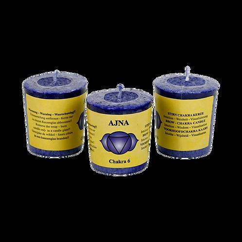 Chakra 6 geurkaars - Ajña (wijsheid)