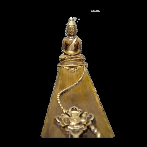Wierookplankje Boeddha - bruin