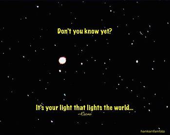 Rumi - your light.JPG