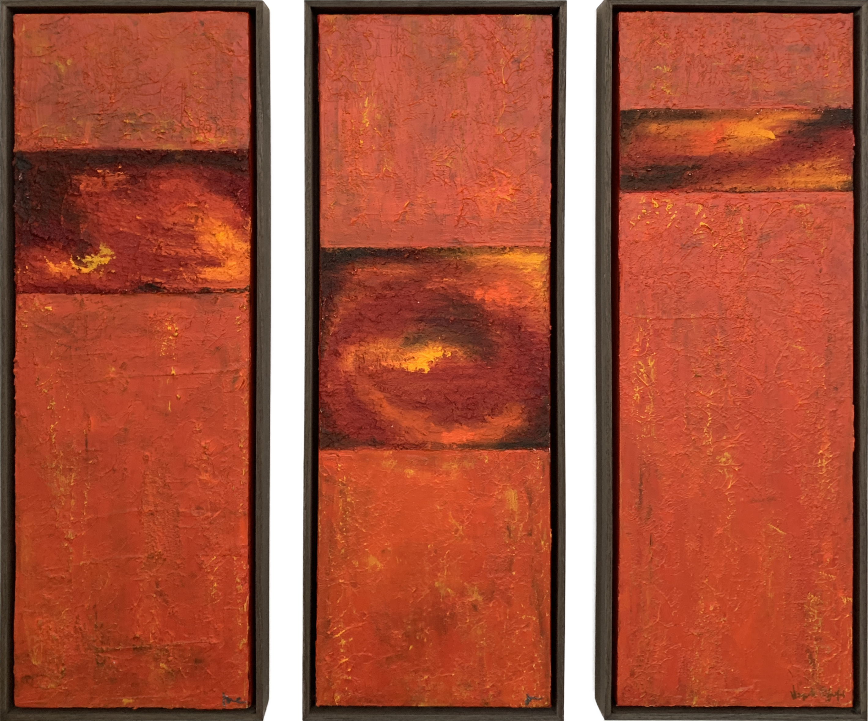 SUNSET TRIPTYCH I
