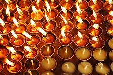 Tempel Kerzen