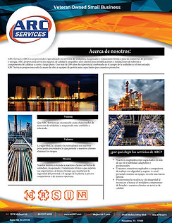 Arc Services Specialty Welding - Spanish