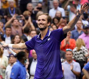Medvédev, primer ruso que gana el US Open en 20 años