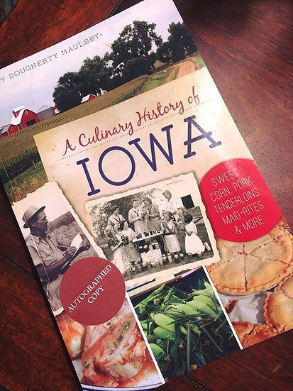 """A Culinary History of Iowa"" Book"