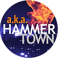 aka HAMMERTOWN logo - a serial web drama created by Darren Kaulback and Kathy Rupcic. Inspired by true stories.