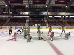 PJ day at JDFSC Summer Skating at the Q