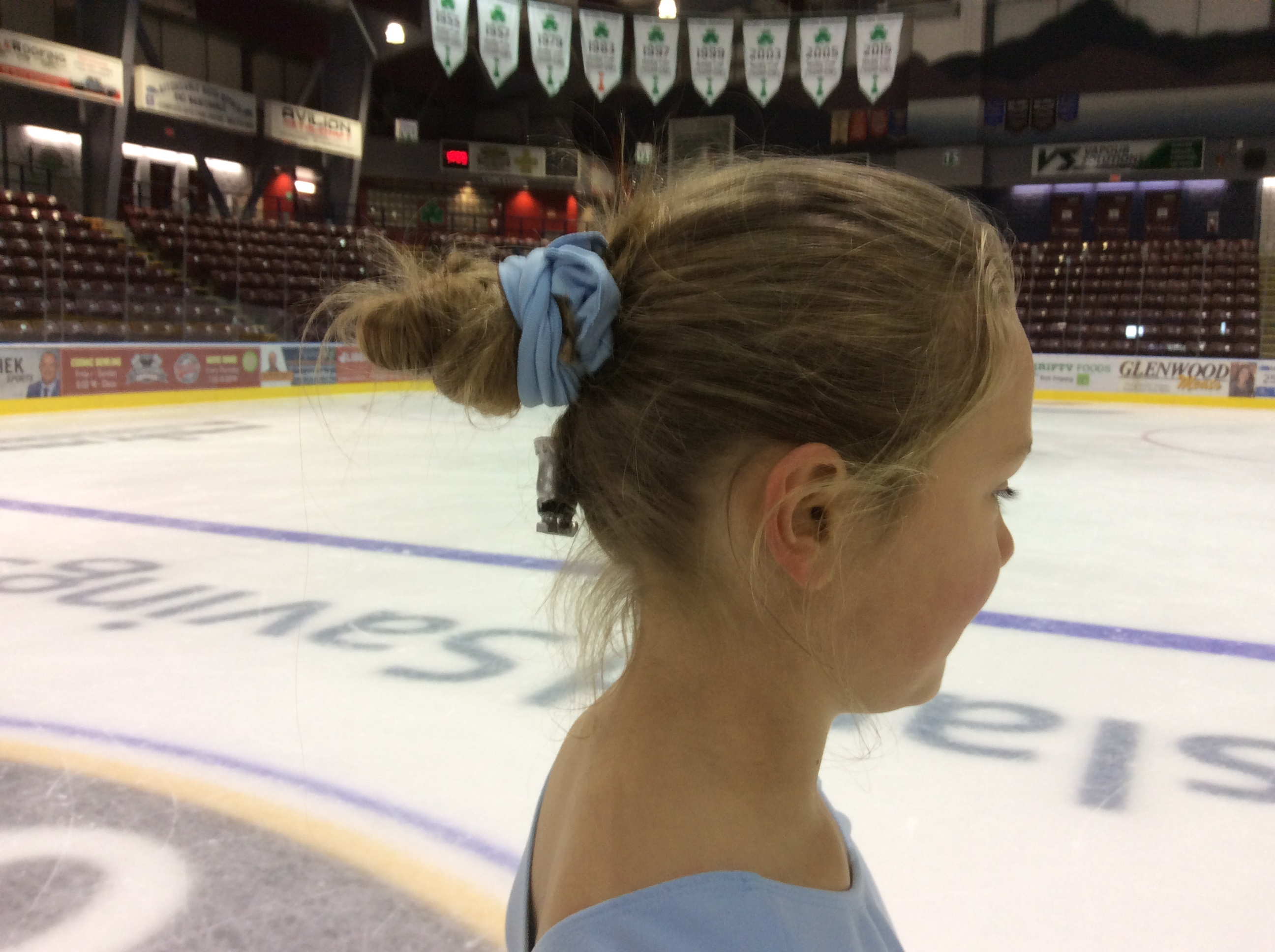 Crazy Hair Day at JDFSC Summer Skating at the Q