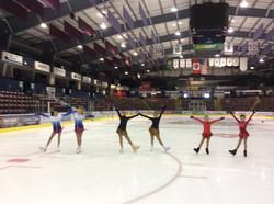 Twin & Triplet Day at JDFSC Summer Skating at the Q