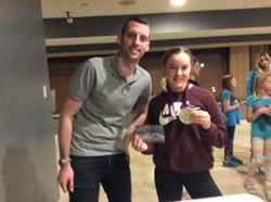 Ryan Cochrane with Bryanne
