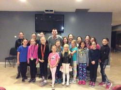 Ryan Cochrane with JDFSC skaters