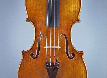 Construction d'un Violon d'après Guarneri del Gesù, Crémone 1733 - Bernard Bossert Genève 2010