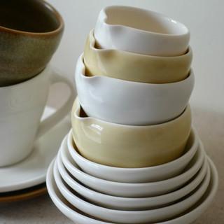Detail of Porcelain Vessels