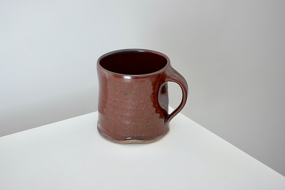 Maroon Tenmoku Mug #5