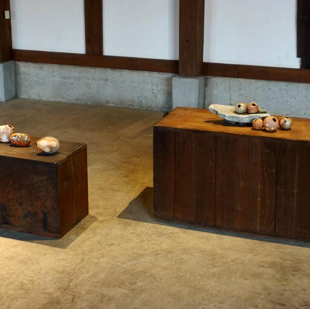 'Memories of River Stones' installation view