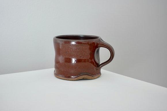 Maroon Tenmoku Mini Mug #2