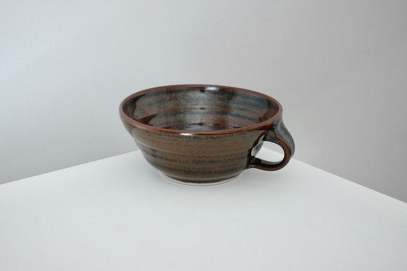 Liquorice Tenmoku Soup Mug #2