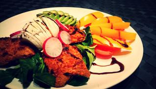 Spicy PowerSalat mit 33g Protein