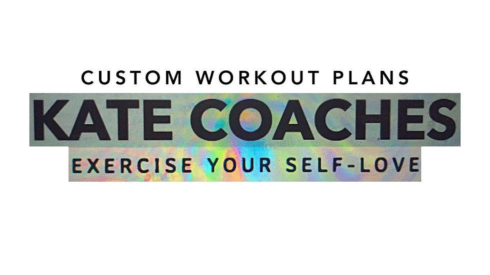 Personalized Workout Plan