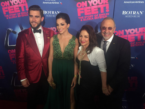 ON YOUR FEET!  BROADWAY PREMIERE