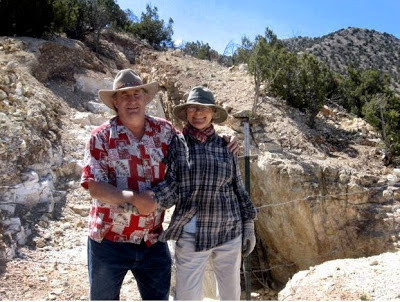 Todd and Patricia Brown - Turquoise Miners