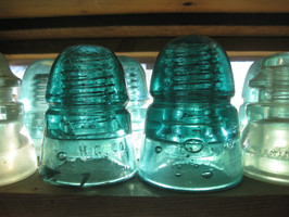 Glass Insulator Collection