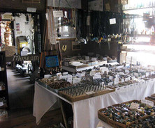 Inside the Gift Shop - Rock Room