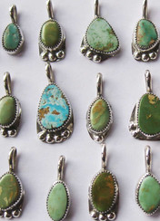 Cerrillos Turquoise Jewelry - Handmade by Todd and Patricia Brown