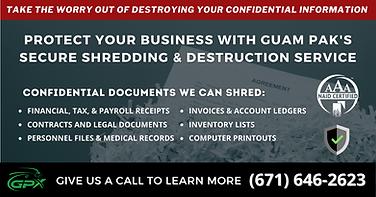 GPX Guam Pak Secure Shredding & Destruction