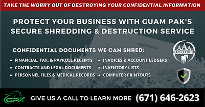 Guam Pak Secure Shredding & Destruction