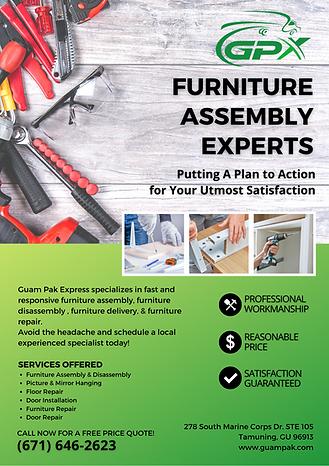 Guam Pak Furniture Installations Guam