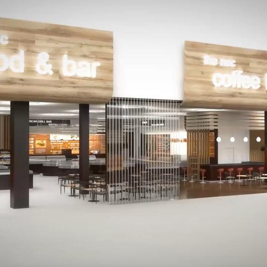 NEC Food Hall - Video Walkthrough