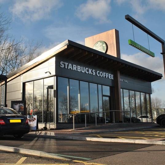 Welcome Break - Starbucks Drive Thru