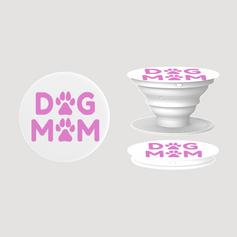 Dog mom pink mothers day pop socket .png