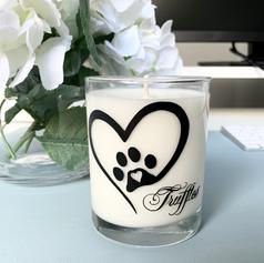 Memorial custom candle .heic