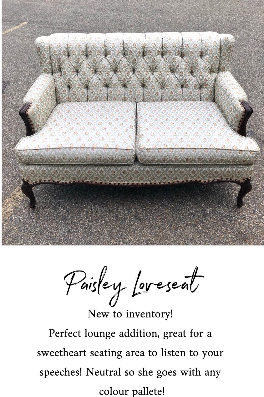 Awesome Paisley Loveseat Alphanode Cool Chair Designs And Ideas Alphanodeonline
