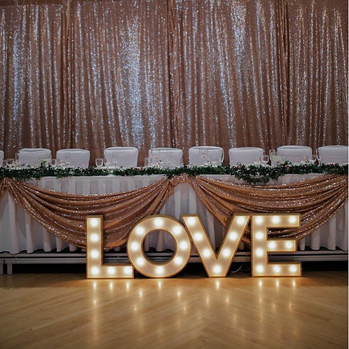 Love Letter Marquee Lights