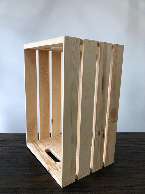 Light Wood Crates