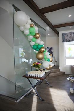 Custom Balloon Installation