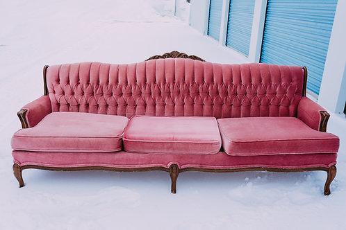 Blush Full Size Sofa