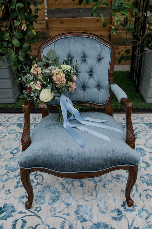 Vintage Blue Chair
