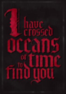 dracula quote Gary Oldman poster